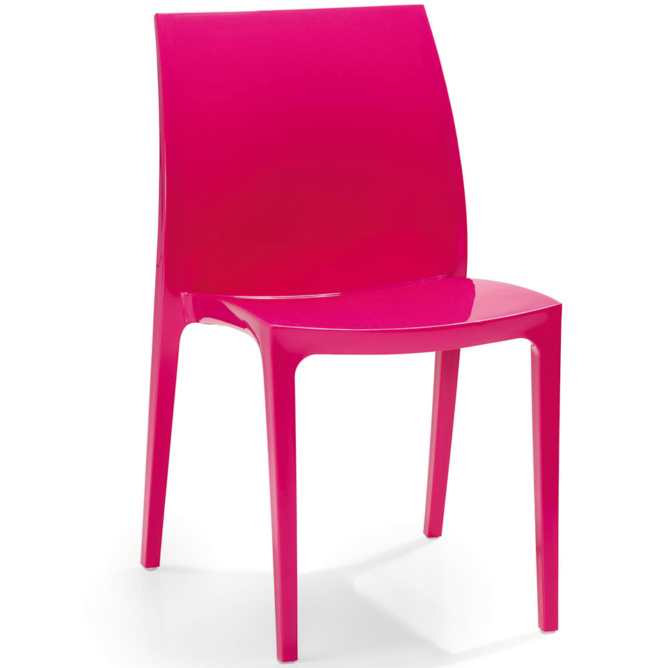 Allibert Sento Deep Pink Dining Chair