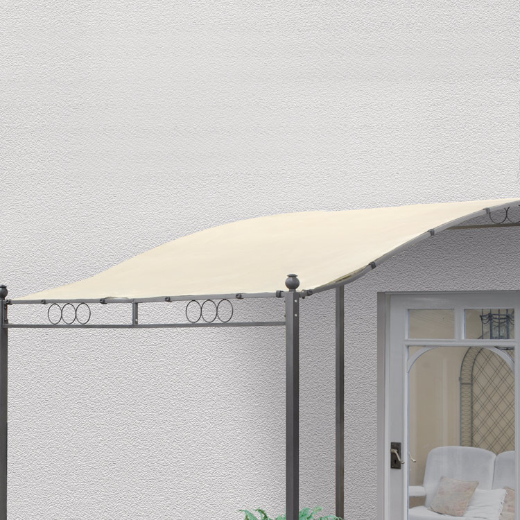 Replacement Roof Canopy for Steel Wall Gazebo 3.5m x 2.5m