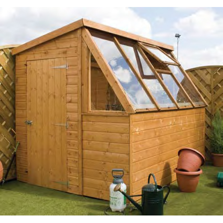8ft x 6ft Potting Shed - Fully Erected