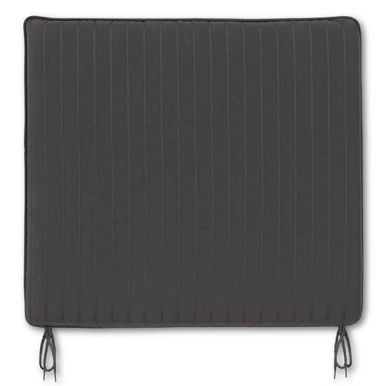 Jacquard Black Medium Seat Pad