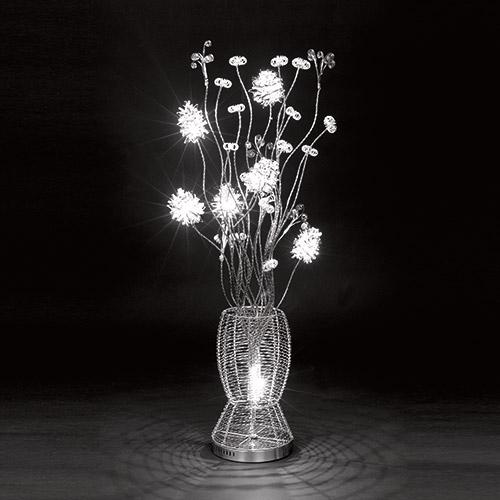 Coiled Sprays Halogen Floor Lamp
