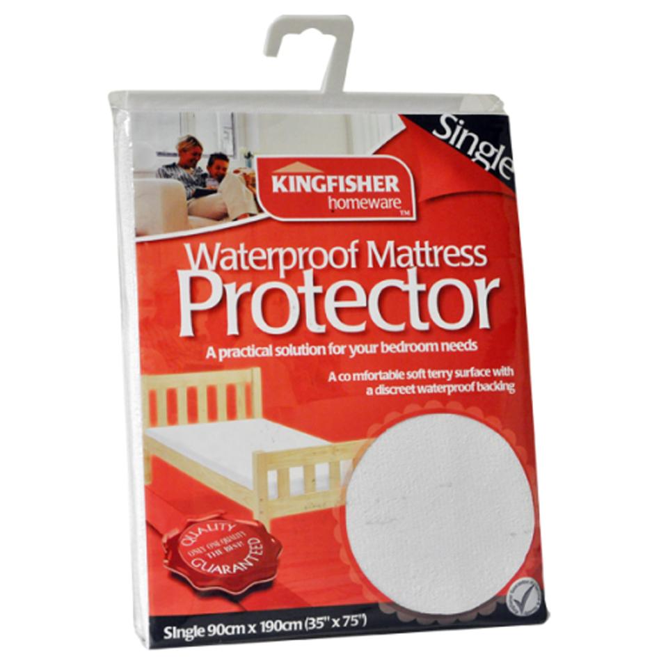 Waterproof Single Mattress Protector