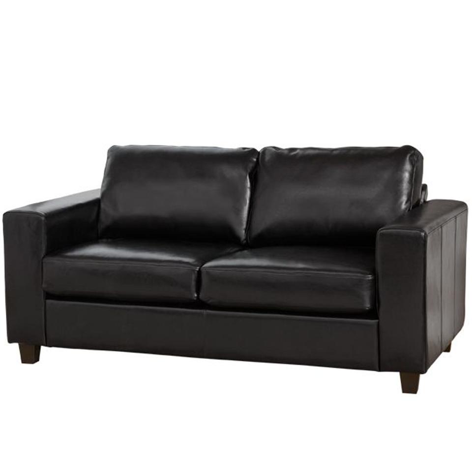 Brooklyn Black 3 Seat Sofa
