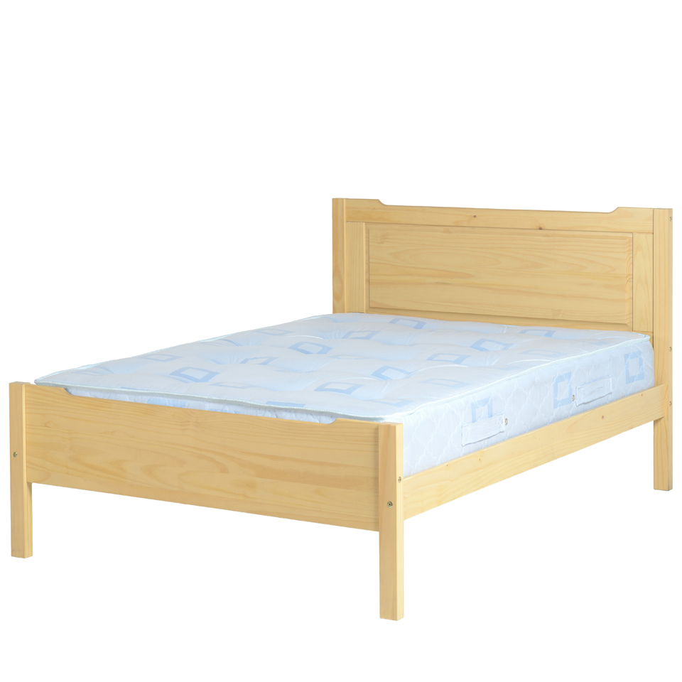 Eclipse Pine Double Bed Frame