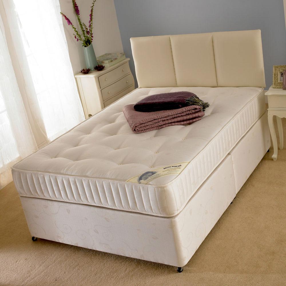 Deluxe Super Damask King Size Divan Bed