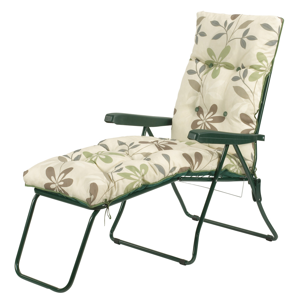 Clematis  Reclining Lounger with Foot Rest