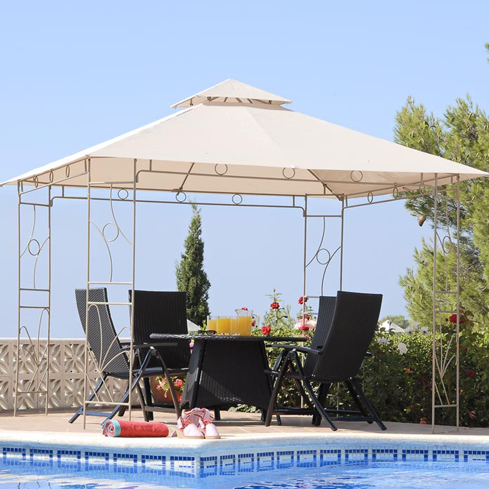 Replacement Canopy for Suntime Fleurie 3m Gazebo