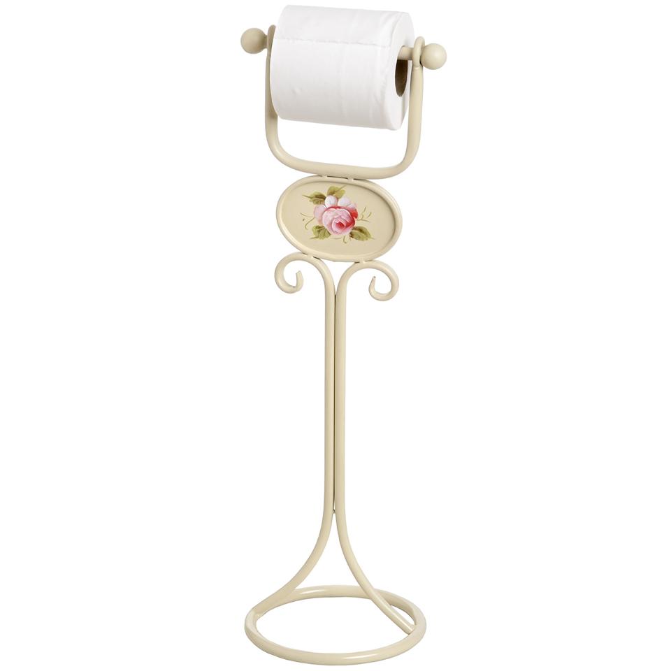 Rose Toilet Roll Holder