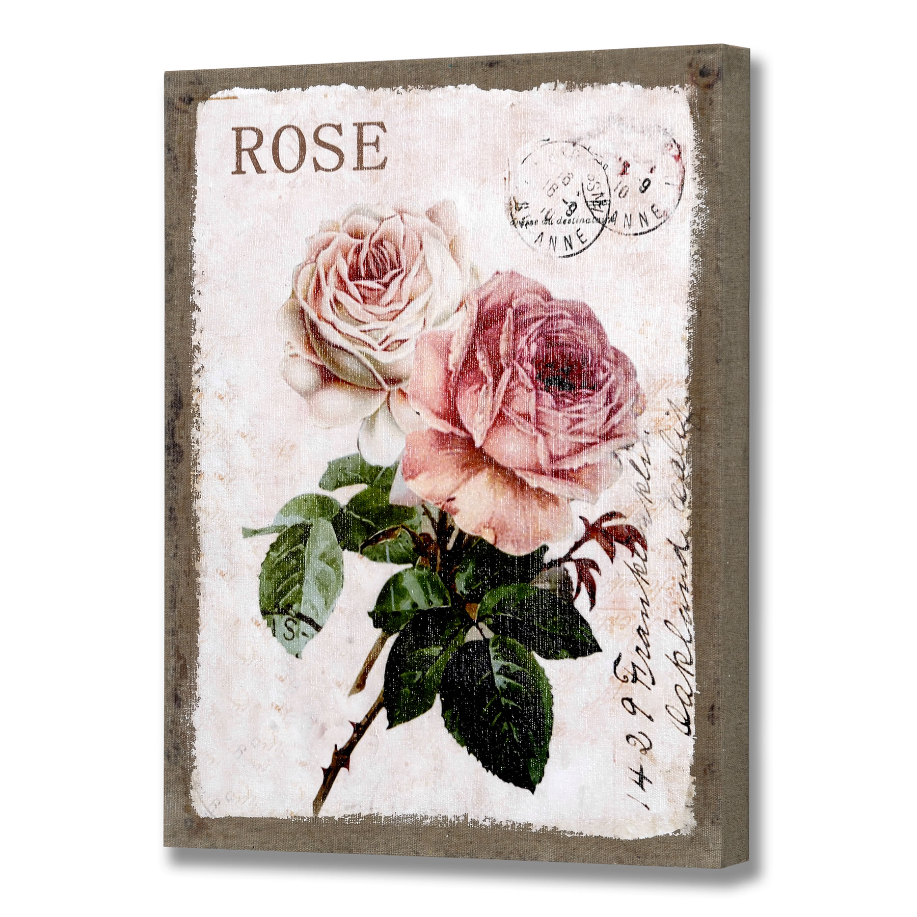 Rose Wall Canvas