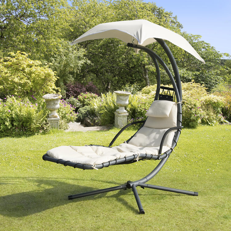 Suntime Beige Helicopter Garden Swing Seat