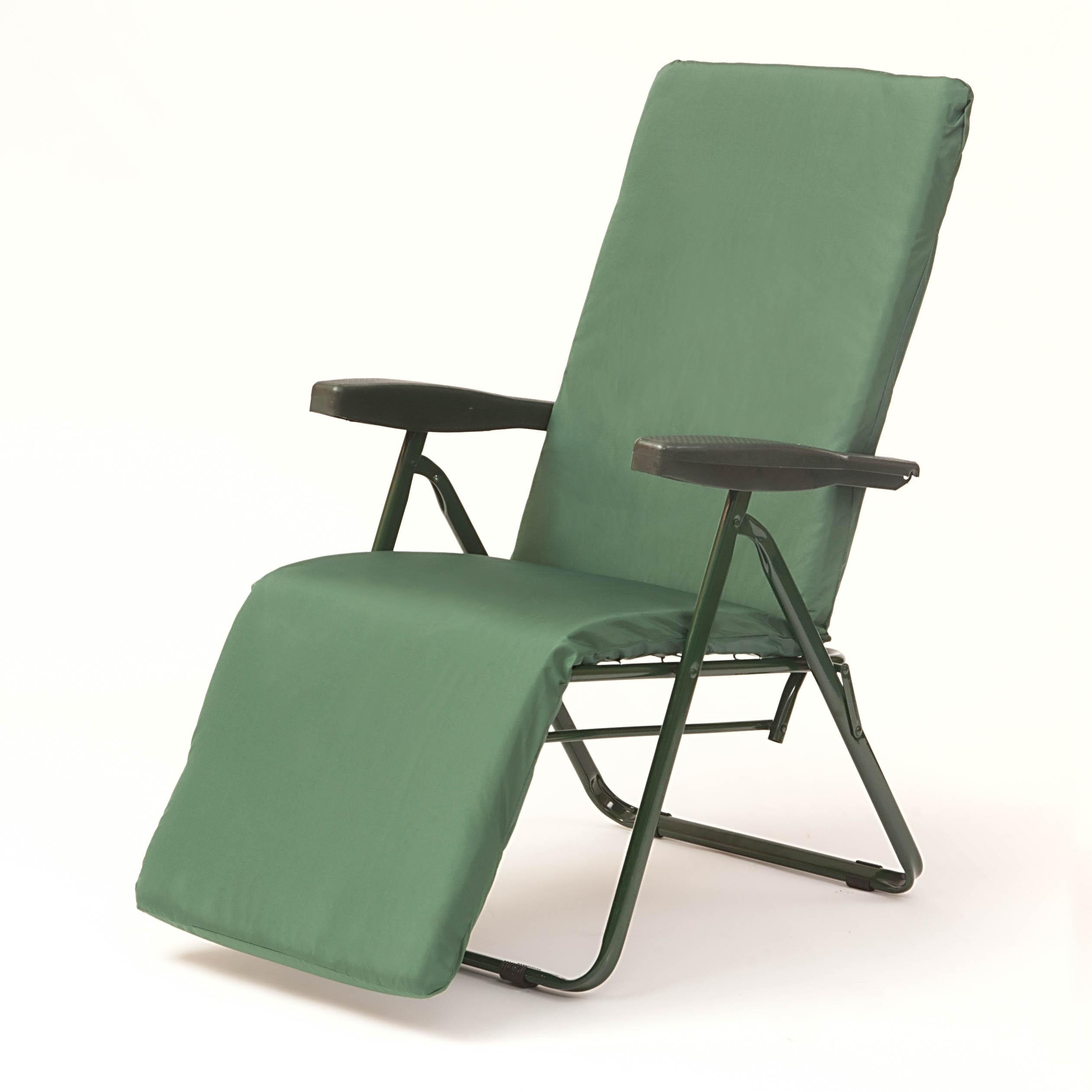Genoa Forest Green Reclining Chair