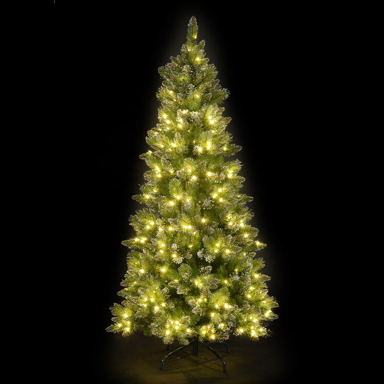 7ft/210 Tyrolean Pine Green Pre-Lit LED Christmas Tree