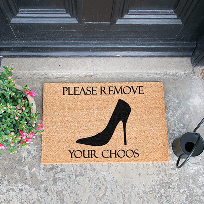 Image of Remove Your Choos Door Mat