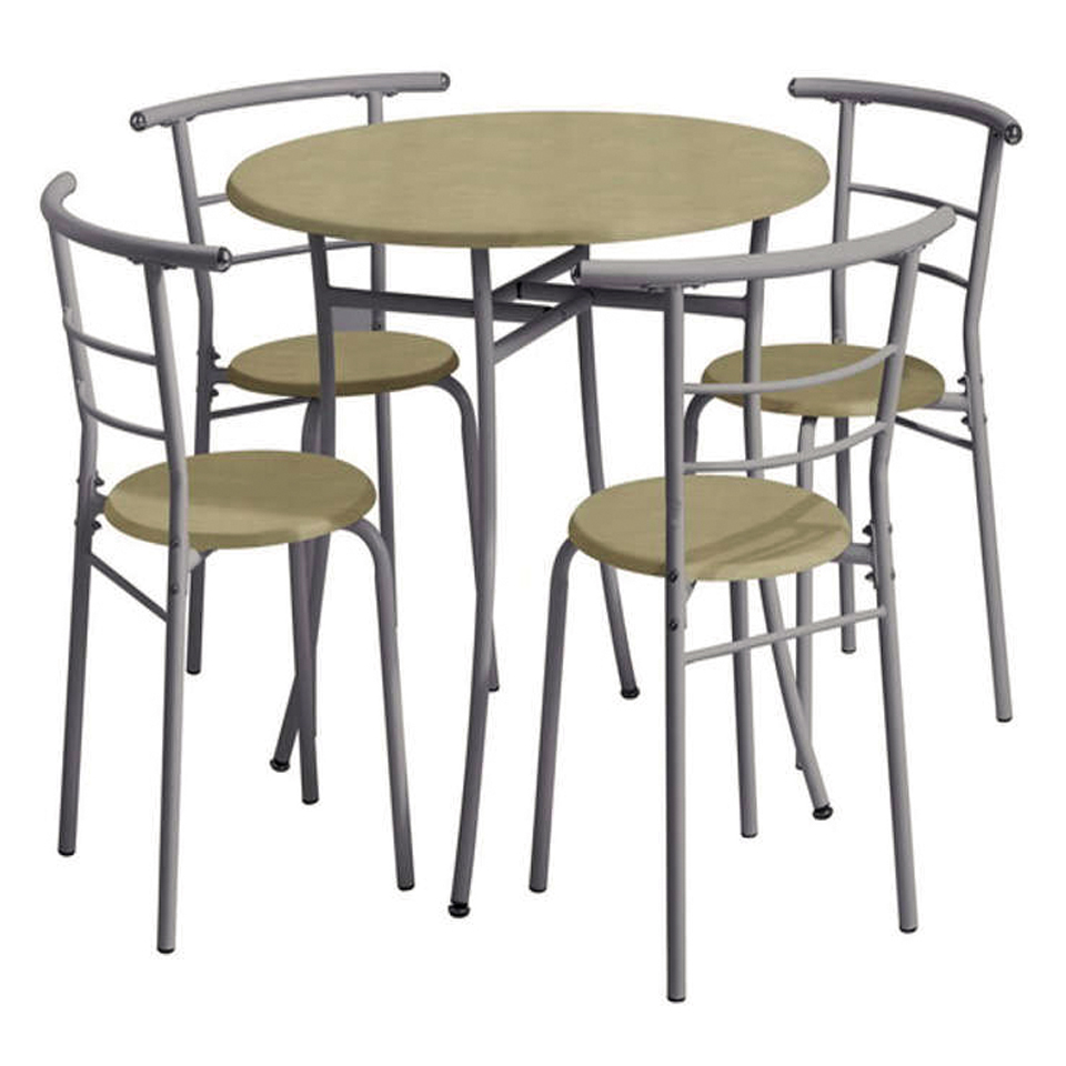 Beech Kitchen Table w4 Chairs
