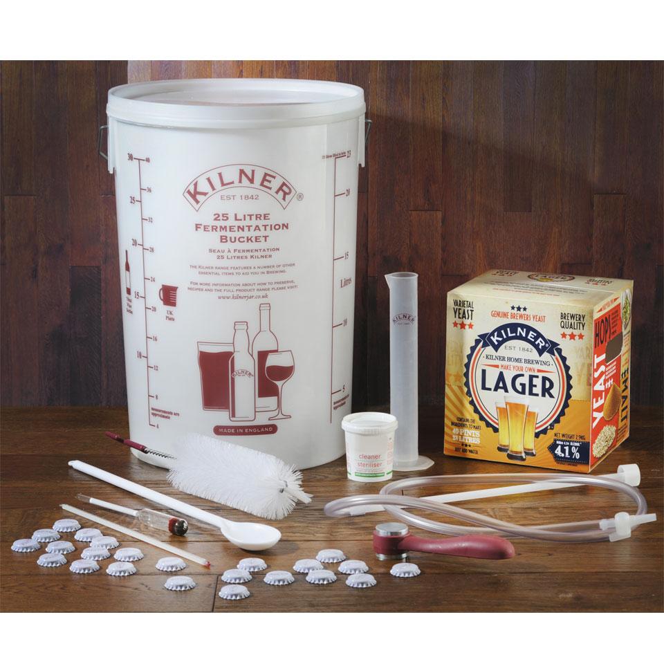 Kilner Complete Make Your Own Lager Kit