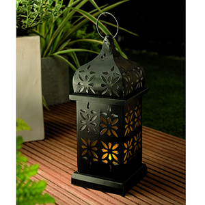 Solar Arabesque Candle Lantern