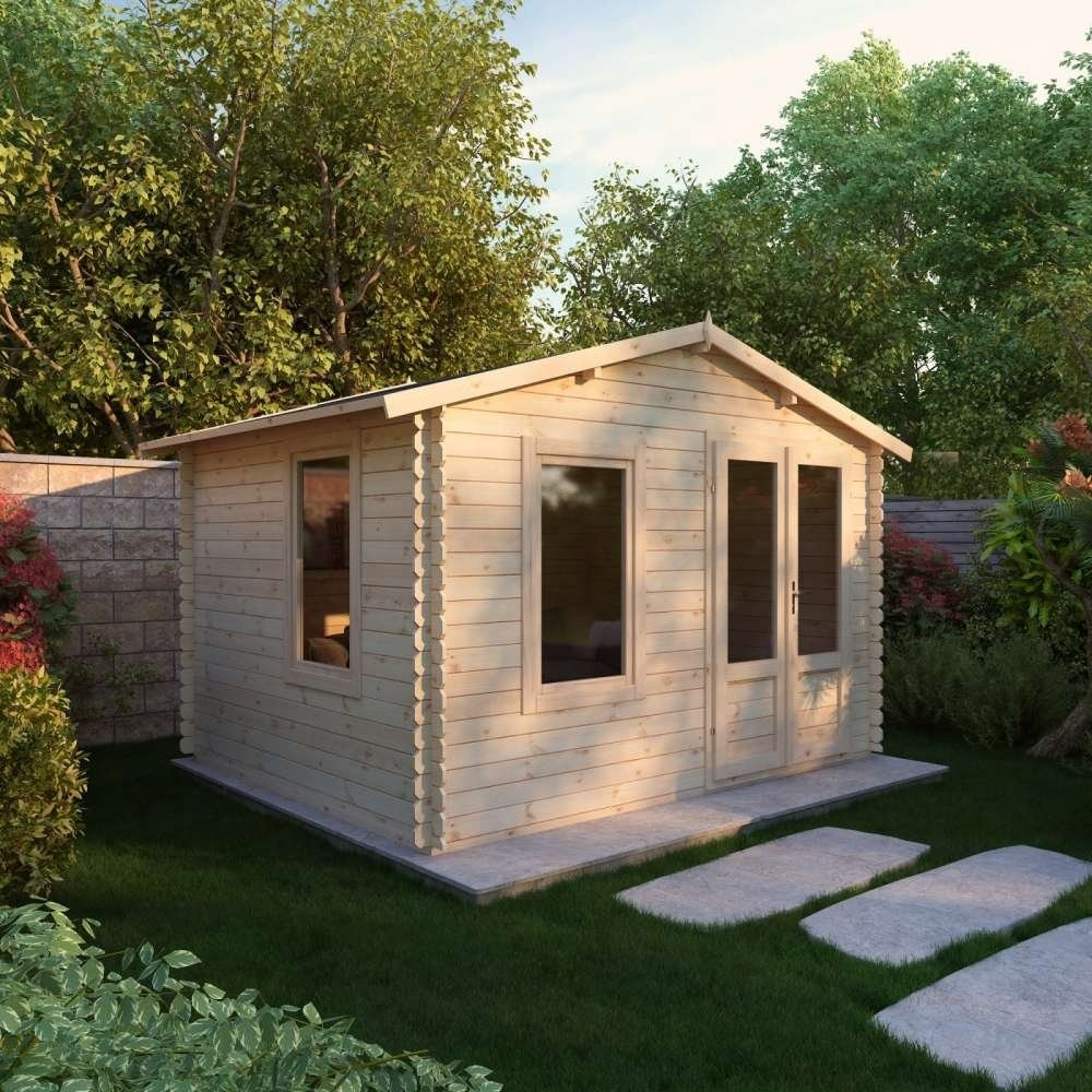 2.0m x 2.5m 19mm Log Cabin
