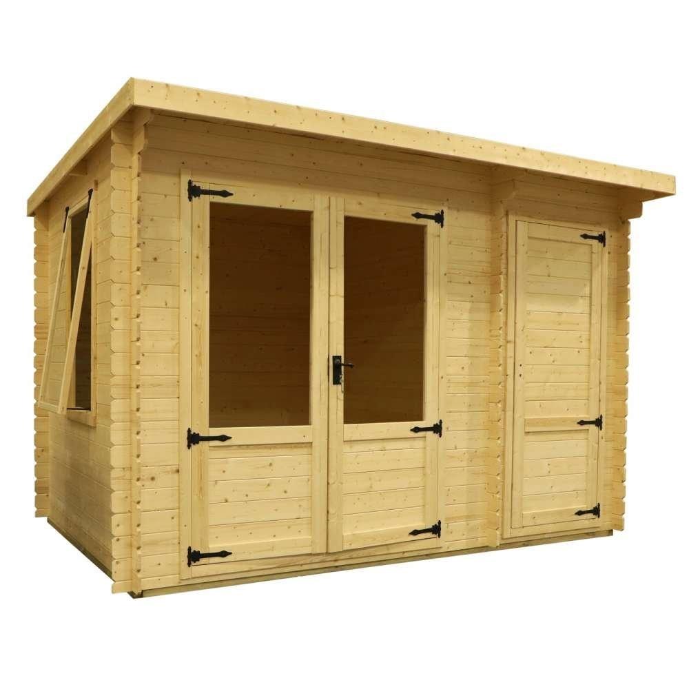 3.5m x 2.4m Delamere Log Cabin