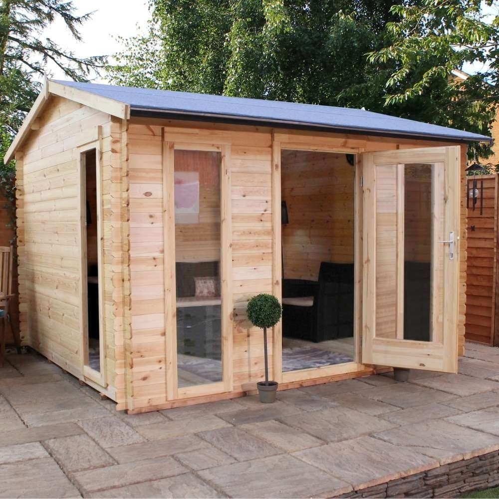 3.5m x 3m Kielder Log Cabin
