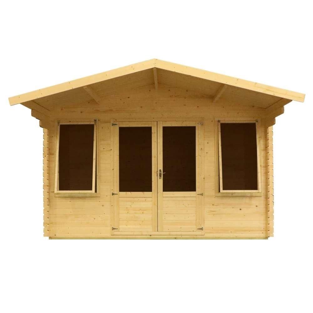 4m x 4m Haven Log Cabin
