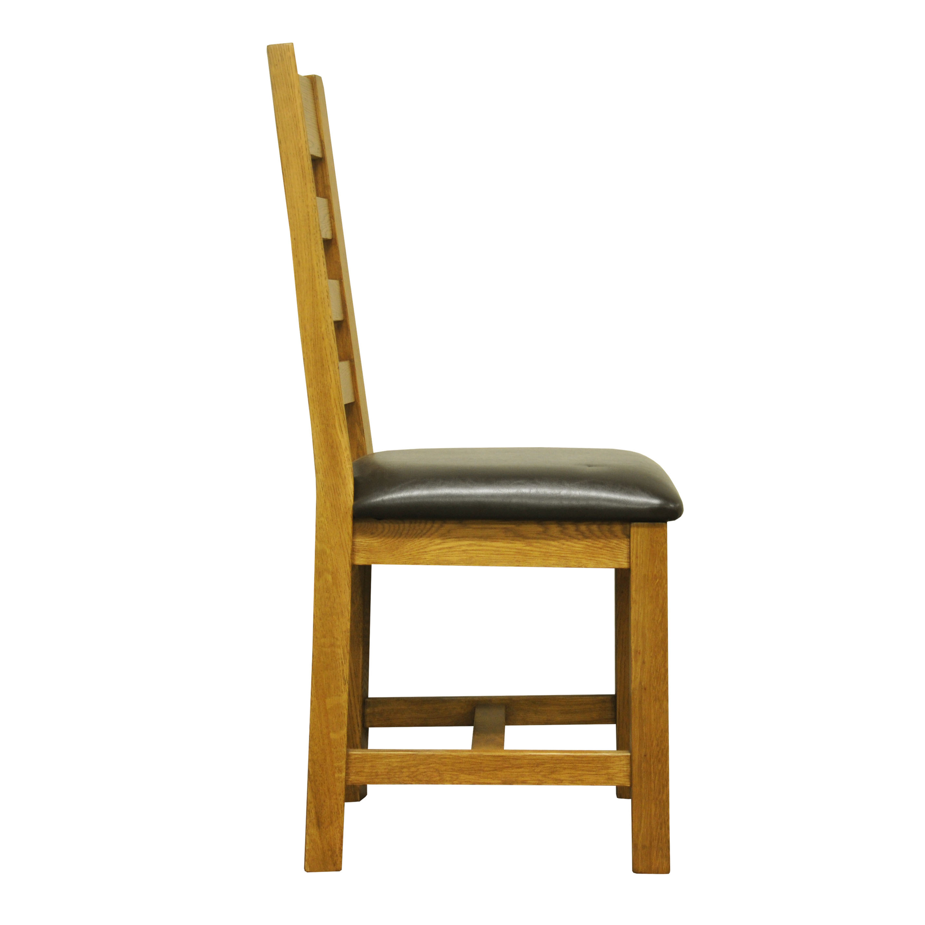 Image of Ashbourne Cushioned Ladder Back Dining Chair