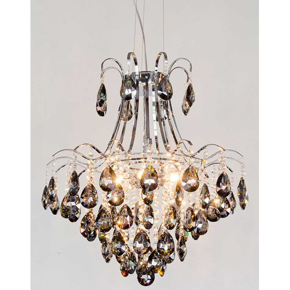 Vienna Chandelier - Smoked