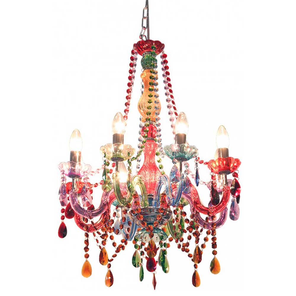 Festival Multicolour Chandelier