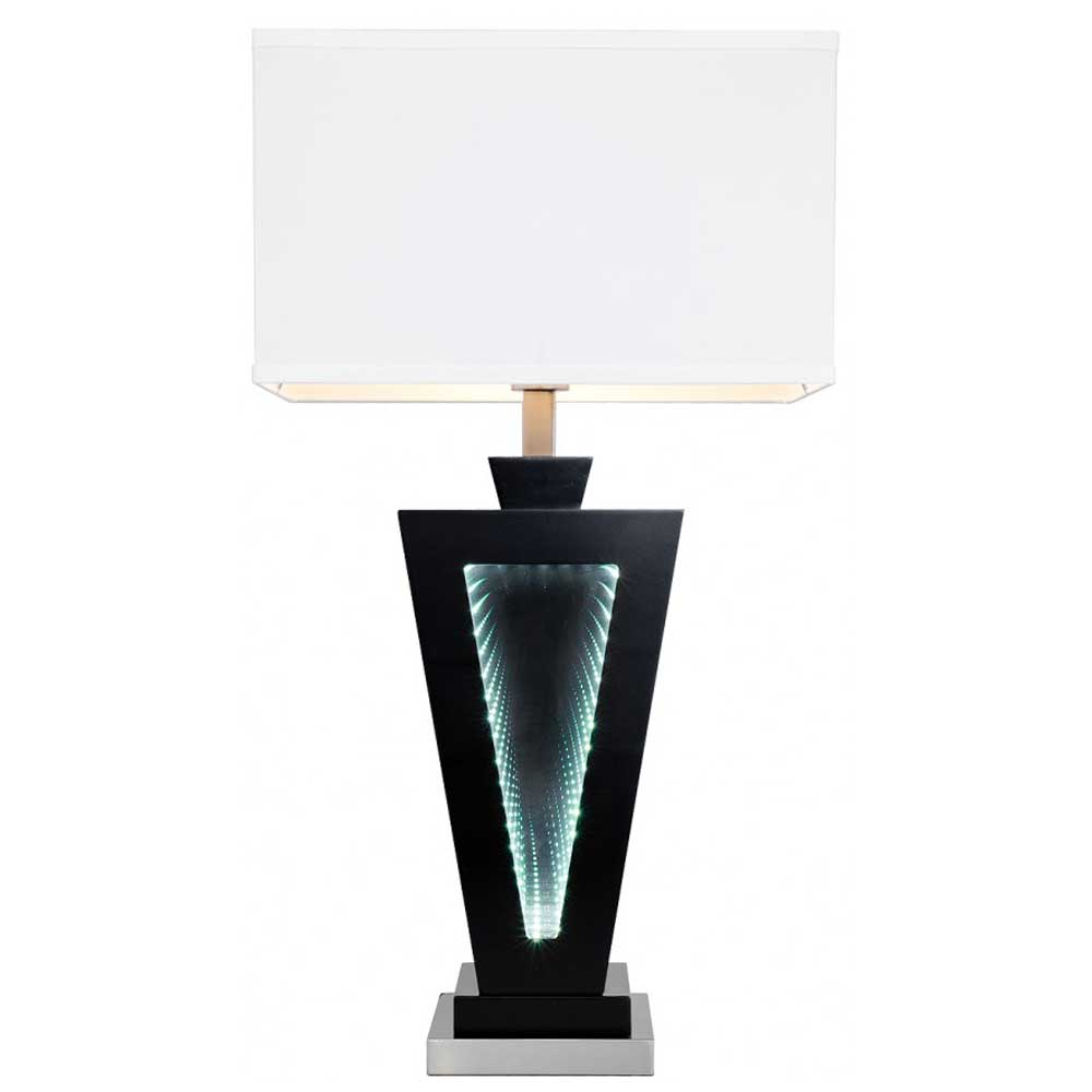 LED Time Tunnel Table Lamp