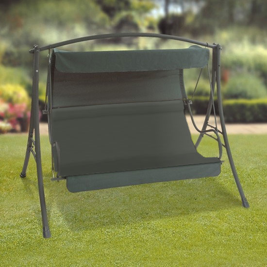 Replacement Seat Cushion for Green Seville Swing Seat