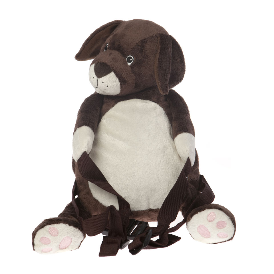 Bobo Buddies Lupo The Puppy Toddler Backpack & Reins