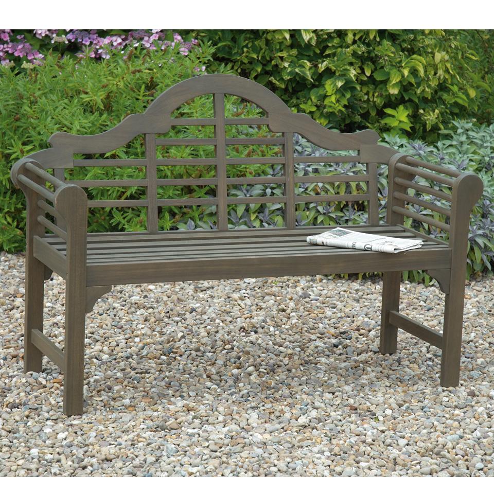 Grey Lutyens Bench