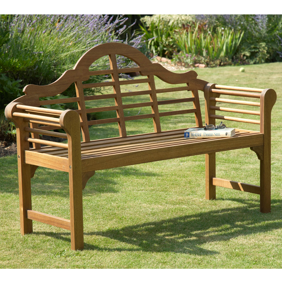 Natural Lutyens Bench