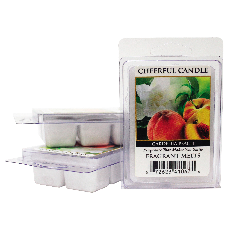 Gardenia Peach Cheerful Candle Melts