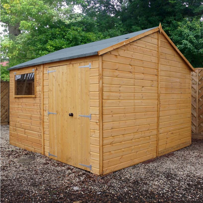 10x10 - Premium Reverse Shiplap T&G Workshop