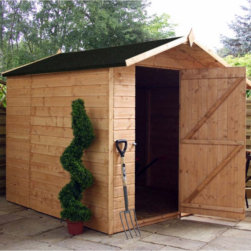7x7 - Offset Apex Shed