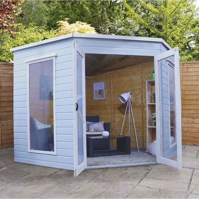 8x8 - Premier Corner Summerhouse