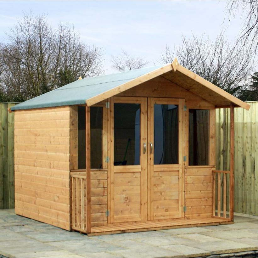 8x7 - Traditional Summerhouse with Veranda