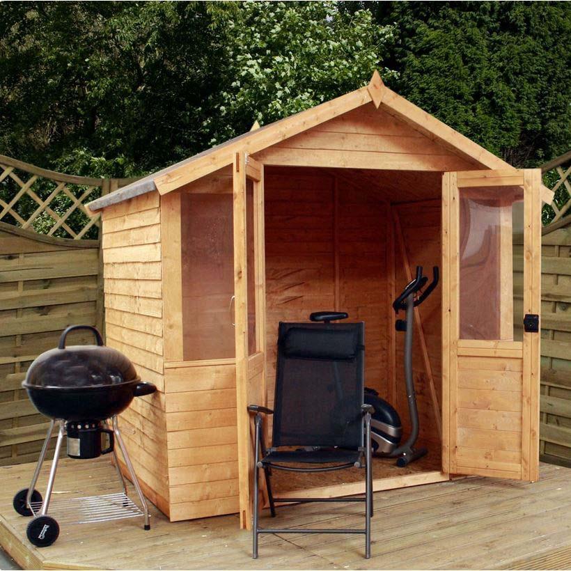 7x5 - Overlap Traditional Summerhouse