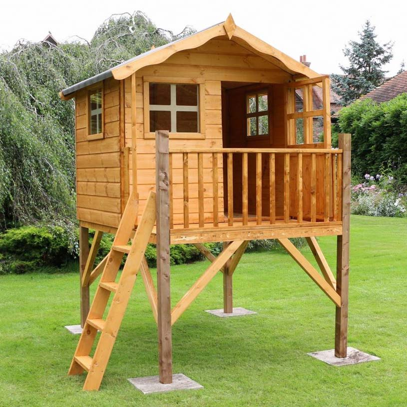 Poppy Playhouse with Tower