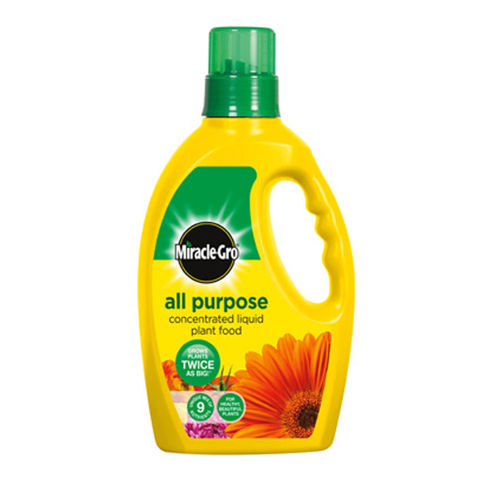 Scotts Miracle Gro Slow All Purpose Liquid Slow Release Plant Food 1 litre