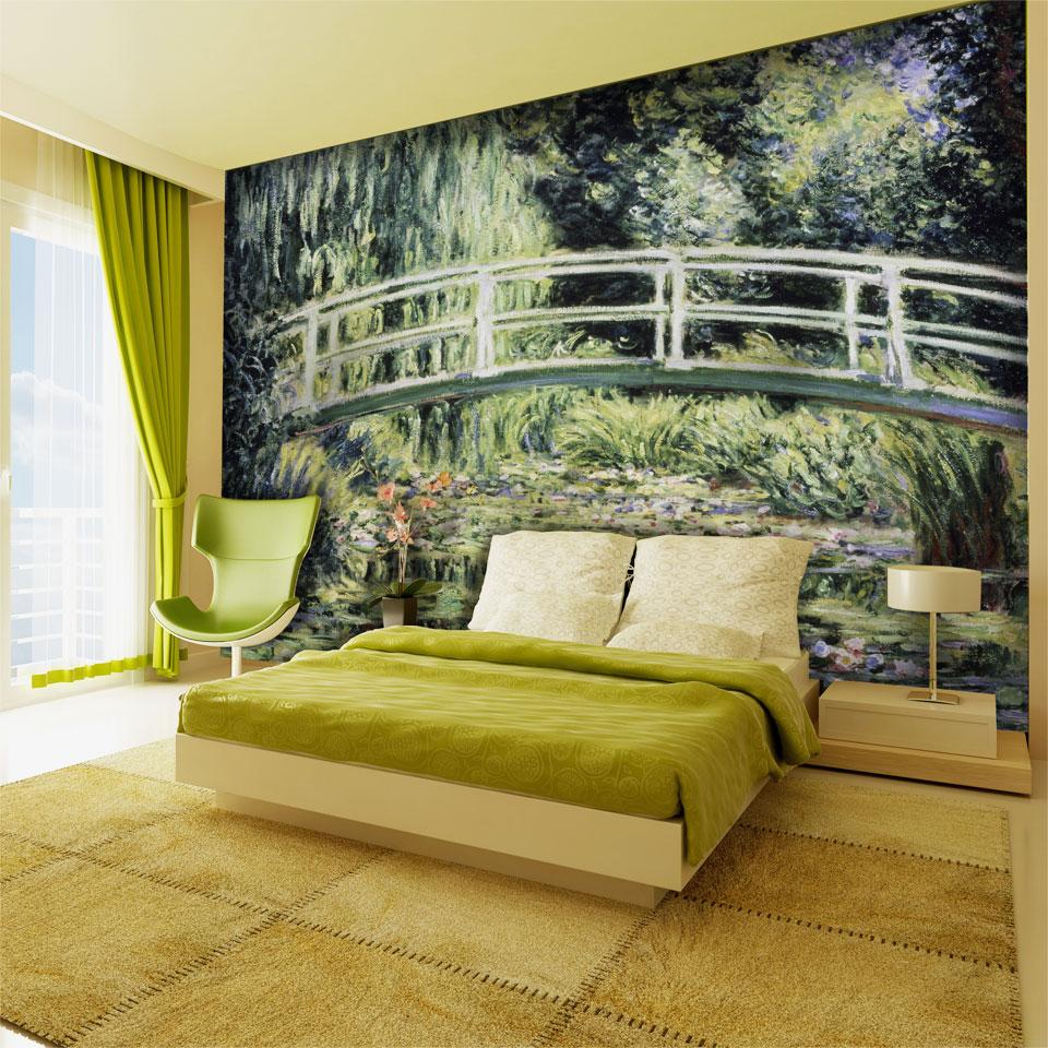 Claude Monet's Garden Wallpaper Mural