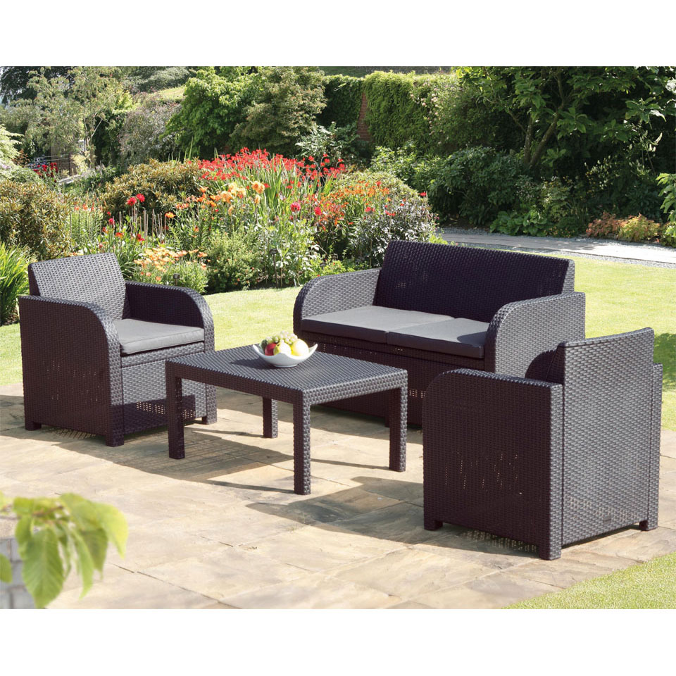 Buy cheap art deco sofa set compare living room prices for Garden furniture set deals