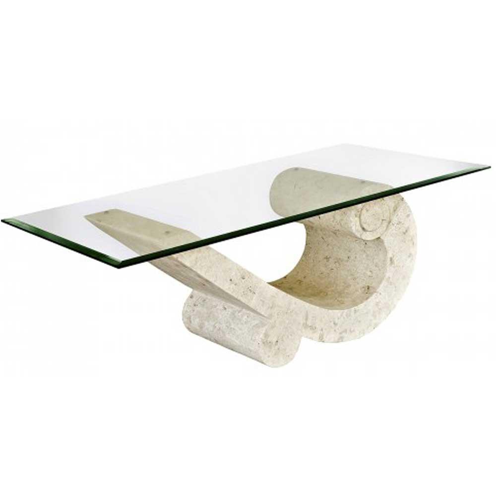 Sea Crest Mactan Stone Coffee Table
