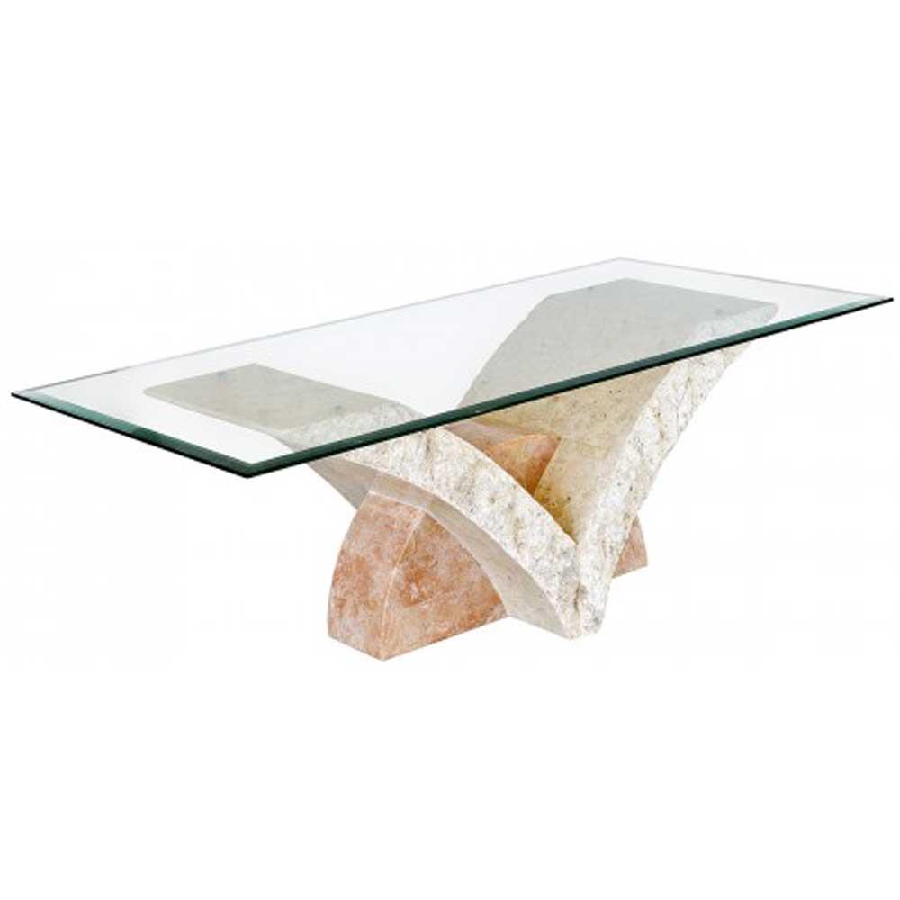 Uranie Mactan Stone Coffee Table