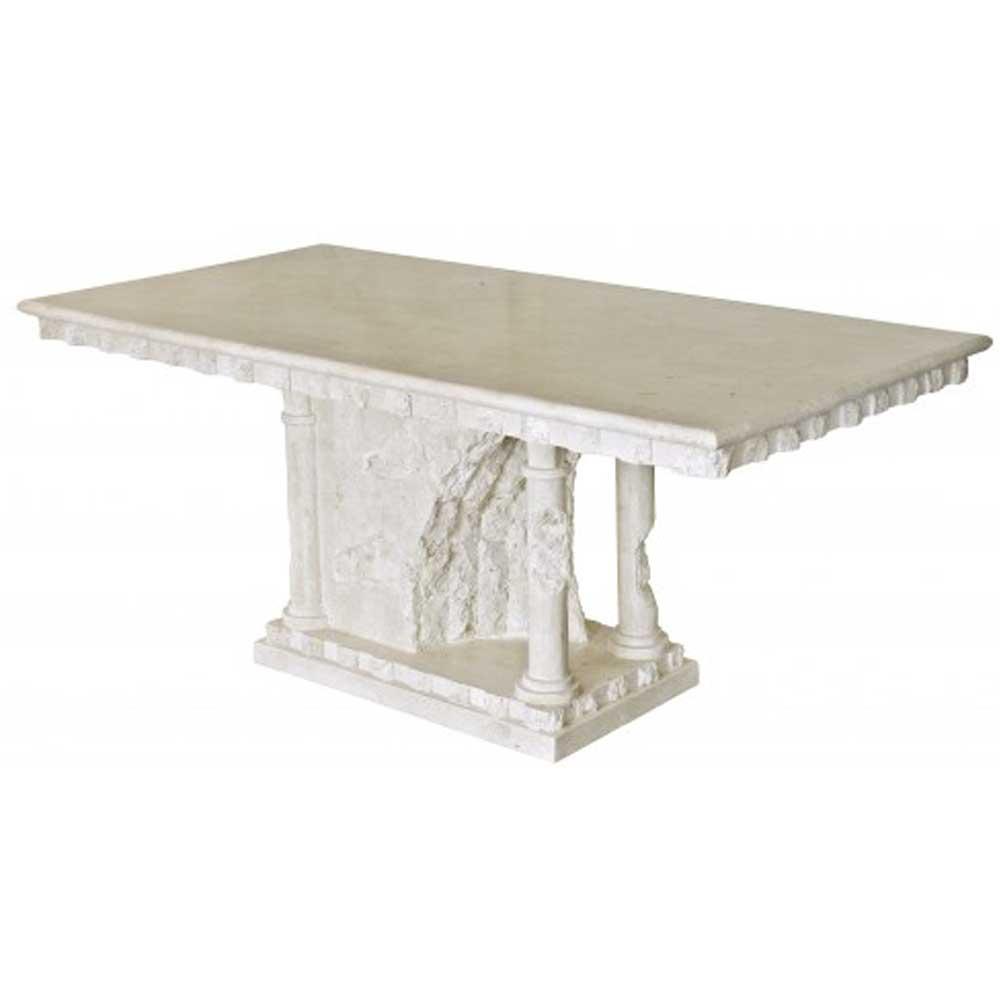 Bellagio Mactan Stone Dining Table