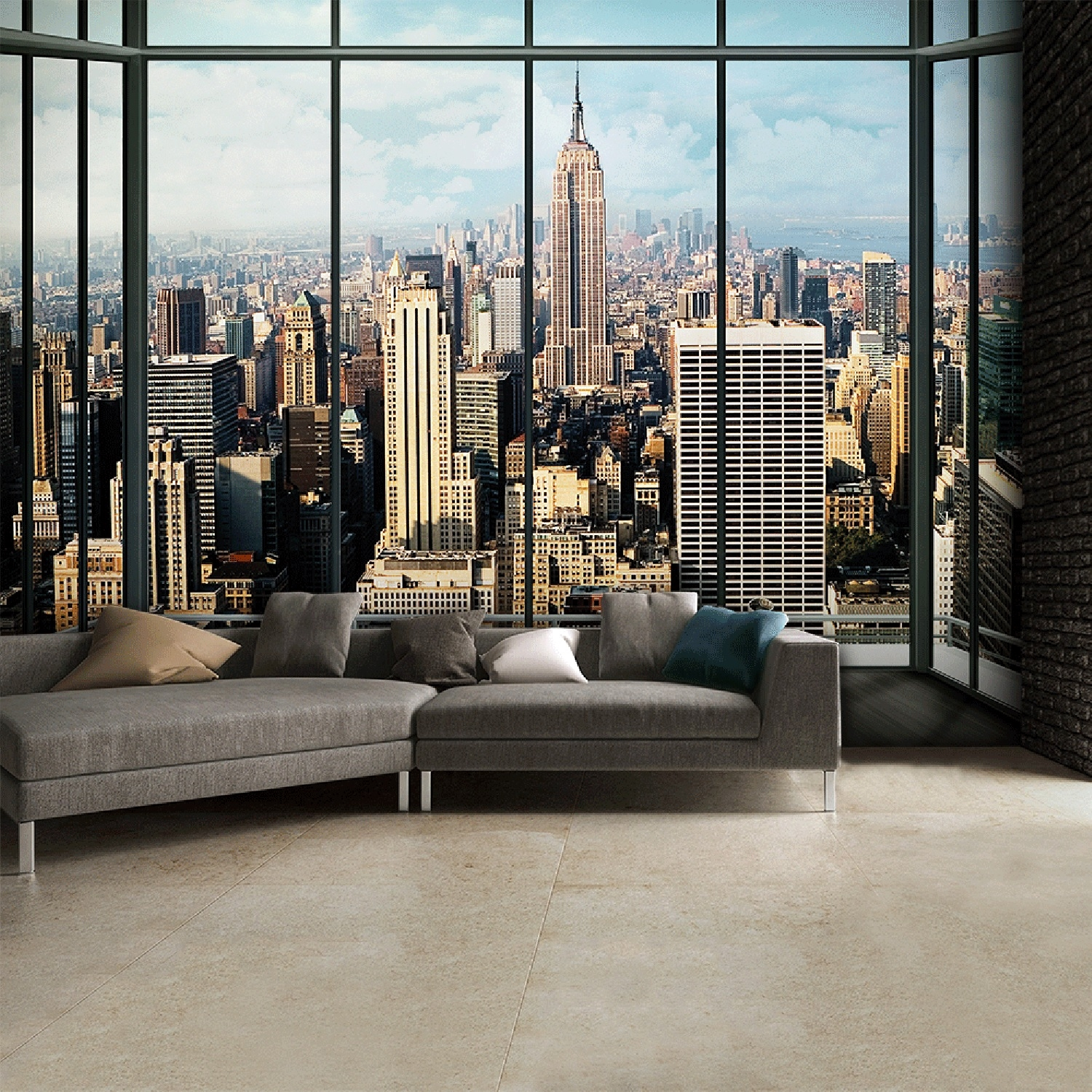 Image of Vintage New York Wall Mural