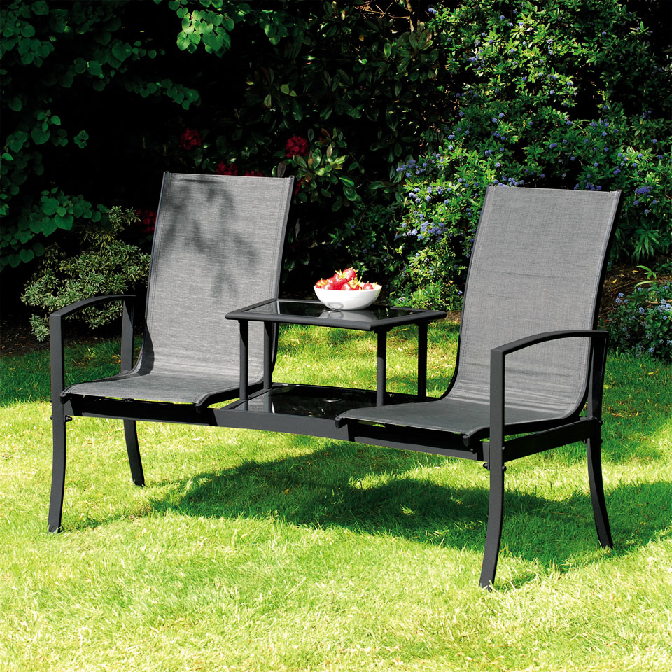 Suntime Havana Black Duo Seat