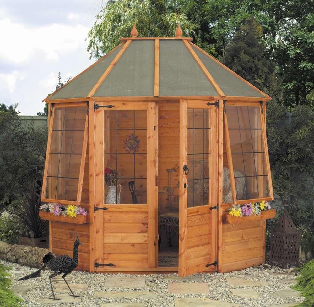 8' x 6' - Octagonal Summerhouse