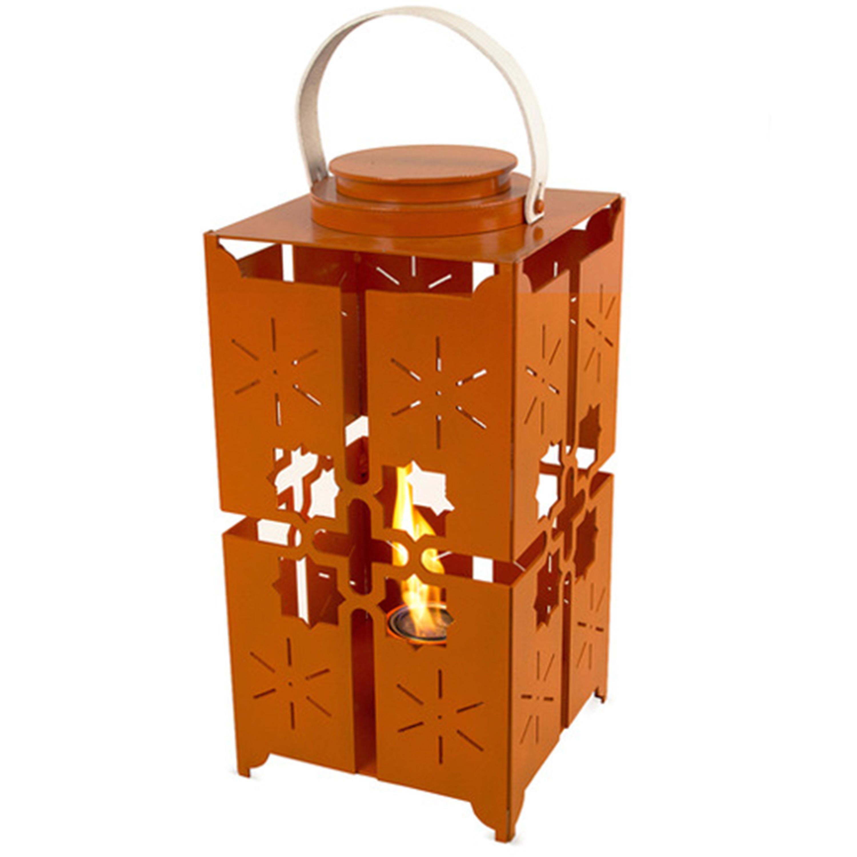 Casablanca Turmeric Flame Lantern