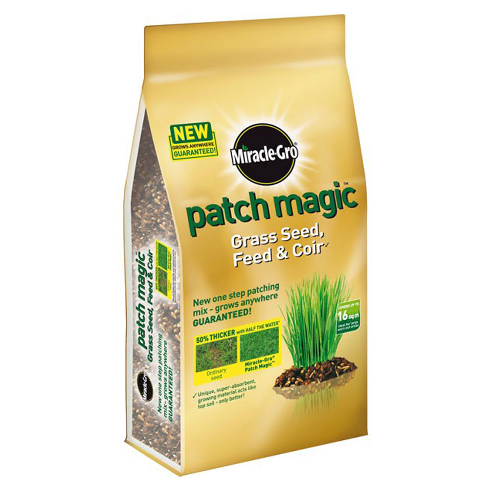 Scotts Miracle-Gro Patch Magic Seed Feed & Coir 3.6kg